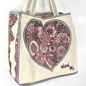 Brighton Love Sweetheart Tote Bag Canvas Printed